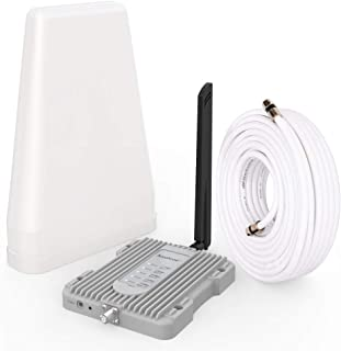 Amazboost Cell Phone Signal Booster Kit,All U.S. Carriers -Verizon,AT&T, T-Mobile, Sprint, U. S. Cellular-Cell Phone Boost...