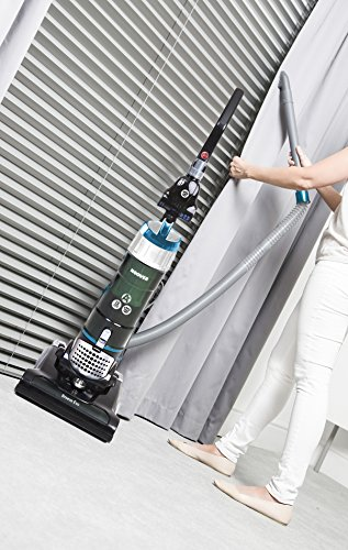 Hoover Breeze Evo Pets Bagless Upright Vacuum Cleaner, TH31BO02, Long Reach, 3L Bin, Lightweight, Adjustable - Green