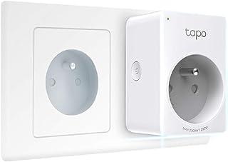 TP-Link Tapo Prise Connectée WiFi, Prise Intelligente compatible avec Alexa, Google Home et Siri, 10A, Contrôler la cafeti...