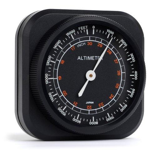 Swift Optical 478 Altimeter/Barometer Weather Instrument, 0 to 15,000' Range, 2-1/16