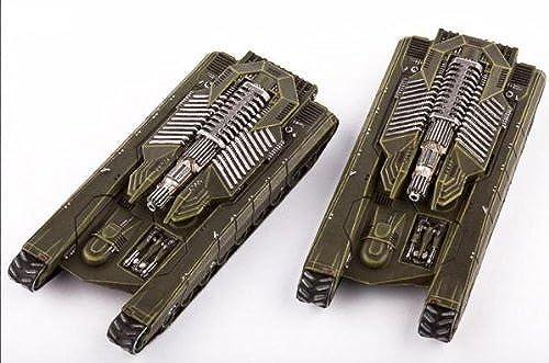 Dropzone Comhommeder - UCM  Scimitar Tank Destroyers (2) by Hawk Wargames