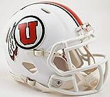 Utah Utes 2015 ALL WHITE Alternate Revolution SPEED Mini Football Helmet