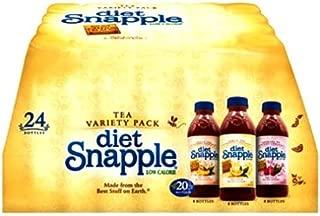 Snapple Diet Iced Tea Variety Pack, 30 Pound