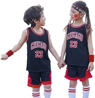 Deportes, Niños Y Equipo Juvenil Conjunto De Jersey De La NBA - Bull Jordan # 23 / Lakers James # 23 / Warriors Curry # Baloncesto Baloncesto Jersey Bordado Jersey Entrenamiento Niños Y Niñas