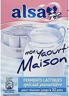Alsa - Spéciale Yaourtière Ferments Lactiques - 8G - Lot De 3 - Prix Du Lot - Livraison Rapide En France Métropolitaine So...