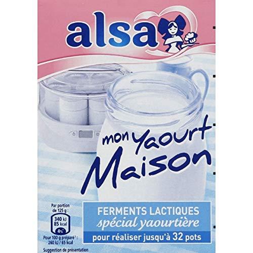 Alsa - Spéciale Yaourtière Ferments Lactiques - 8G - Lot De 3 - Prix Du Lot - Livraison Rapide En France Métropolitaine Sous 3 Jours Ouverts