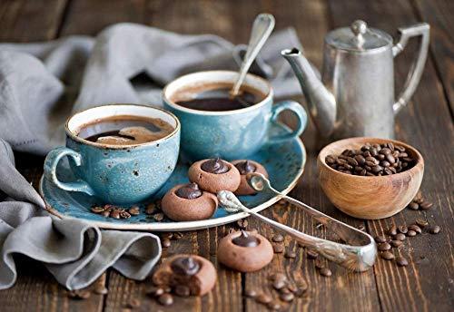 Puzzel Koffie en koffiebonen Kinderen educatieve intelligentie uitdaging puzzel verjaardagscadeau