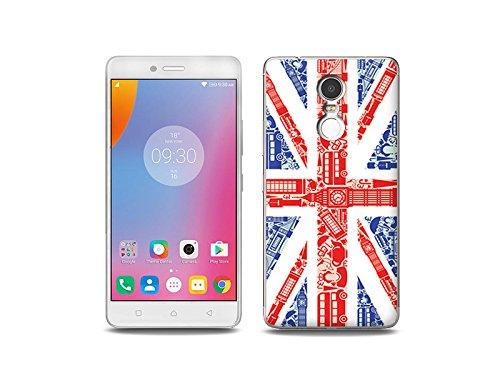 etuo Handyhülle für Lenovo K6 Note - Hülle Fantastic Case - Britische Flagge - Handyhülle Schutzhülle Etui Case Cover Tasche für Handy