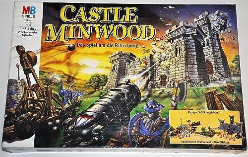 CASTLE MINWOOD - Das Spiel um die Ritterburg  Riesiges 3D Kampffeld