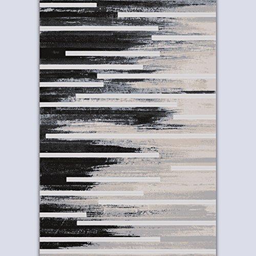 Lying Table basse Salon Chambre Étude Sofa Art Ink Peinture Mash Up Carpet Simple Modern Process Thicker Soften Mats trouver (Couleur : #2, taille : 90 * 120cm)