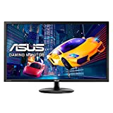 ASUS VP28UQG - Monitor de gaming de 28'' 4K UHD(3840x2160, 1 ms, Adaptive-Sync, FreeSync, Antiparpadeo, Filtro de luz azul) Color negro