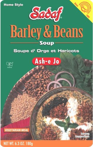 Sadaf Ash-e Jo Barley Beans Soup of 6.3-Ounce Pack Packages In a popularity Outstanding