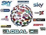 ARBUYSHOP 12 Meses Europea CCCAM Cline servidor de cuentas de Año para Sky España Reino Unido Alemania Francia Italia Polonia 1 año con shiping libre de DHL