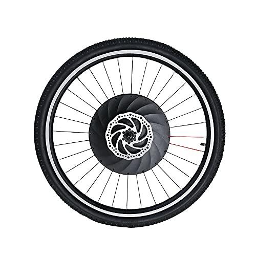 OUKANING Kit de conversión de Bicicleta eléctrica de 29 Pulgadas Kit de conversión de Kit de Motor de Motor Delantero de 36V 240W