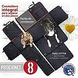 Funda cubreasientos para perro | Protector universal impermeable de...