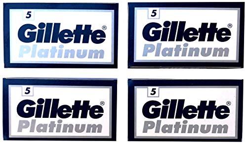 20 Gillẹtte Platinum Rasierklingen