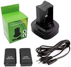 Carregador Duplo com 2 Baterias Xbox 360 Bivolt