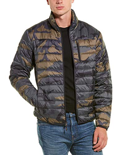 Hawke & Co. Mens Packable Down Jacket, XL Army Camo