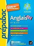 Anglais 2de, 1re, Tle toutes séries, LV1 & LV2 - Prépabac Cours & entraînement: pour progresser en anglais au lycée