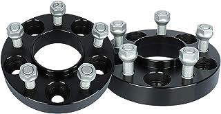 IRONTEK Espaciadores Hubcentric de 1 pulgada 5 x 114,3 mm (70,5 mm de diámetro, 1/2 x 20 pernos de 5 x 4,5 a 5 x 4,5 mm, a...