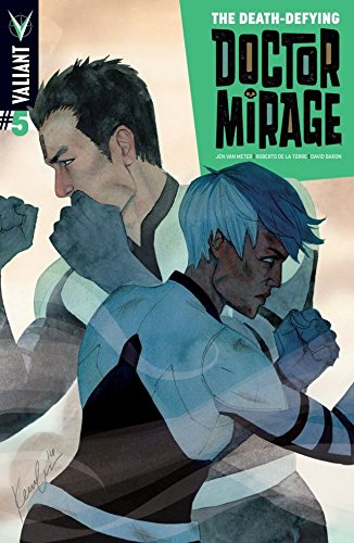 The Death-Defying Dr. Mirage (2014) #5 (of 5): Digital Exclusives Edition (English Edition)
