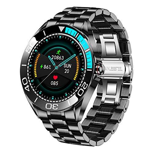 LIGE -   Herren Smart Watch,