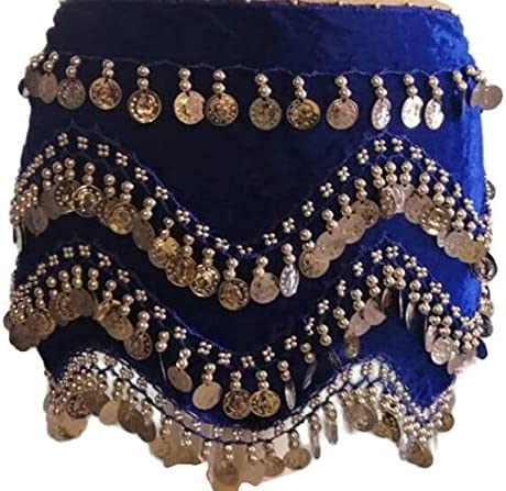 Super beauty product restock quality top Movie Famous Hand Made Velvet Turkish Hip Belly Max 77% OFF B Dance Scarf