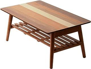 ワイエムワールド 4種類の天然木 木製 折りたたみ テーブル クワトロ 幅80cm 42-016