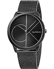 Calvin Klein Orologio Analogico Quarzo Uomo con Cinturino in Acciaio Inox K3M5T451