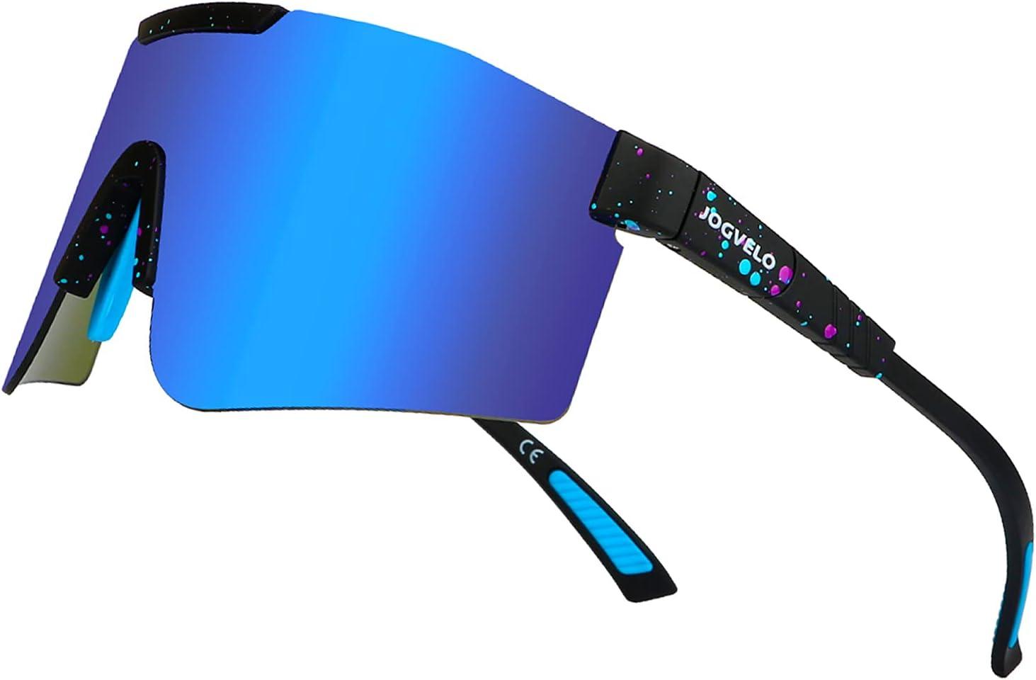 Cheap sale JOGVELO online shopping Sport Sunglasses Polarized for Men con Protection UV400