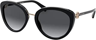 Bulgari sunglasses BV8226B 501/T3 Black grey size 54 mm Woman