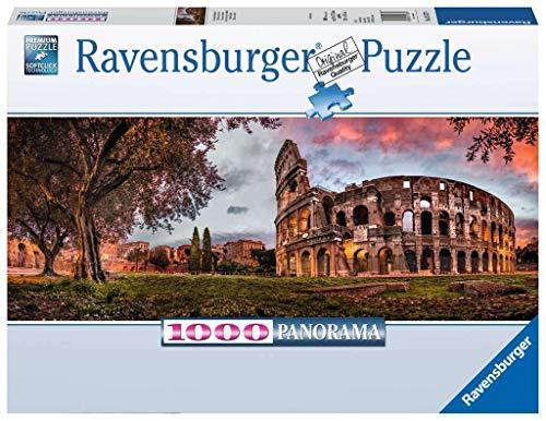 Ravensburger 15077 Colosseo al Tramonto, Puzzle 1000 Pezzi, Collezione Panorama, Puzzle per Adulti