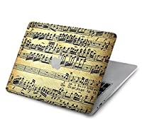 JP2667MB1 ファウラーモーツァルト音楽シート The Fowler Mozart Music Sheet For MacBook 12 inch - A1534 用ケース
