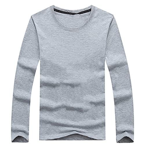 N\P La camiseta de manga larga para hombre de otoño y invierno