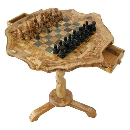 Wooden Chess Board Coffee Table Pieces Set With Free Small Chess Board Wooden Pieces Amazon Co Uk Kitchen Home