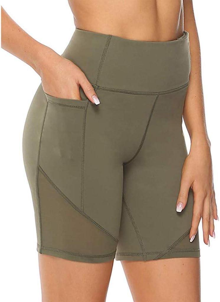 Womens Yoga Pants High Waisted Purchase Max 43% OFF Tummy Legg Control Running Shorts