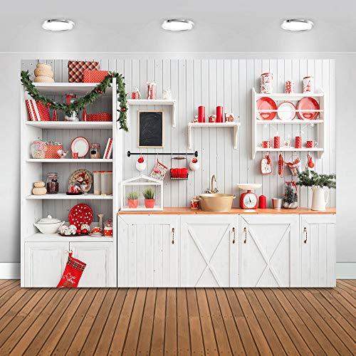 Avezano - Tela de fondo retro de madera para cocina, fondo interior,...
