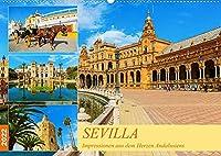 Sevilla - Impressionen aus dem Herzen Andalusiens (Wandkalender 2022 DIN A2 quer): Eine fotografische Reise durch Sevilla (Monatskalender, 14 Seiten )
