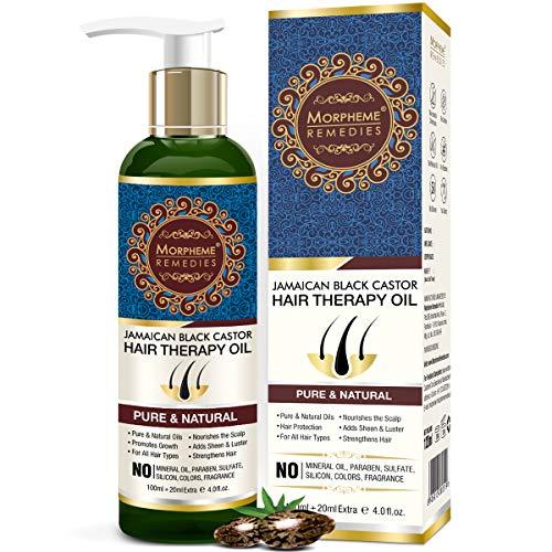 Morpheme Remedies Jamaican Black Castor Hair Therapy Oil -...