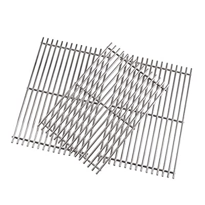 Grill Valueparts 17 Inch Grate for Homedepot Nexgrill 720-0896B Deluxe 6 Burner, 720-0896, 720-0898, 720-0896C, 720-0896E, 720-0896BX, Stainless Steel Cooking Grates (3-Pack)