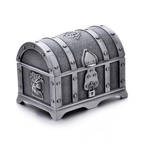 LOOMEN Treasure Chest Gaming Dice Container