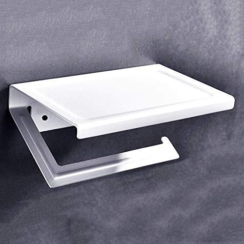 WLP-WF Soportes para Papel Higiénico Soportes para Toallas de Papel Soporte de Pared de Aluminio Soporte para Toallas de Papel Higiénico Soporte para Rollos de Papel de Cocina Estante de Alenamiento
