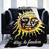 LMHBLTOP Sublime 40 Oz to Freedom Fleece Blanket Ultra-Soft Flannel Throw Blanket 50'' x40