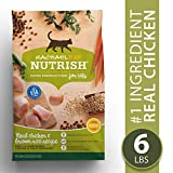 Rachael Ray Nutrish Premium Natural Dry Cat Food, Real Chicken & Brown Rice Recipe, 6 Lbs