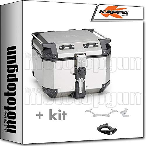 kappa maleta kfr420a k'force 42 lt + portaequipaje monokey compatible con kawasaki ninja 1000 sx 2020 20