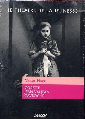 Théâtre de la jeunesse - Victor Hugo - Cosette + Jean Valjean + Gavroche [Francia] [DVD]