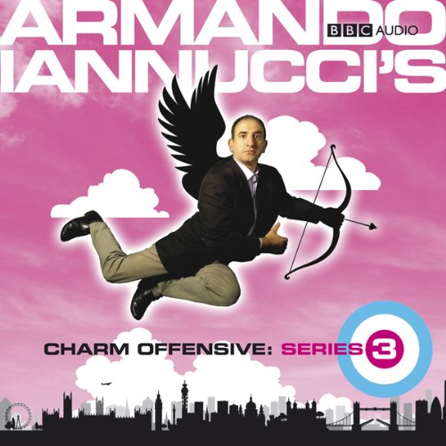 Armando Iannucci's Charm Offensive audiobook cover art