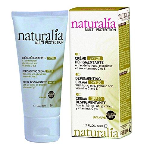 naturalia MULTI-PROTECTION Kojisäure DepigmentierungsCreme LSF 20, 50 ml