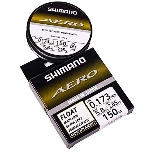 SHIMANO Nylon Aero Float Clear 150m - D.0,17mm - R.2,65Kg - AERFL150173