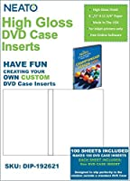 Neato High Gloss DVD Case Inserts ? 100 Sheets to make 100 DVD Case Inserts [並行輸入品]